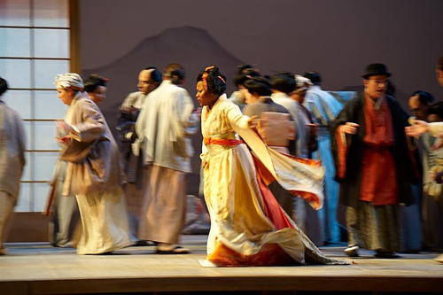 Madama Butterfly Production Shots
