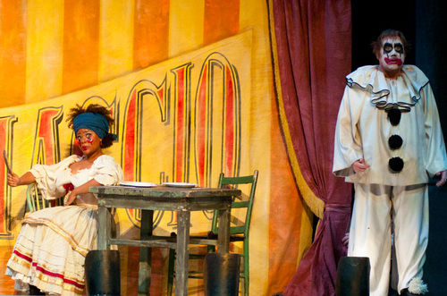 Pagliacci Production Shots